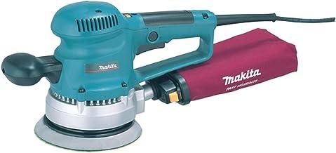 Makita BO6030 BO6030-Lijadora rotorbital Electronica 150 mm 310W 4000-10000 RPM 2.4 kg, 310 W, 240 V, Noir, Bleu, Argent
