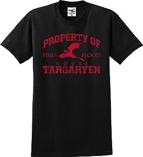 Property of House Targaryen Dragon Fire and Blood GOT T-Shirt (S-5X)