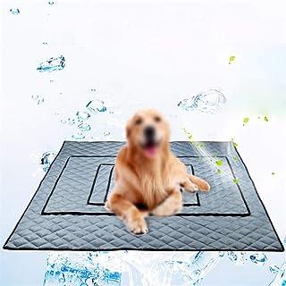 BOENTA Colchon Refrigerante para Perros Manta Fria para Perros Alfombra Refrescante para Perros Manta Refrigerante Perro Manta Refrigerante para Perros Alfombra Refrescante Perro Gray,XS