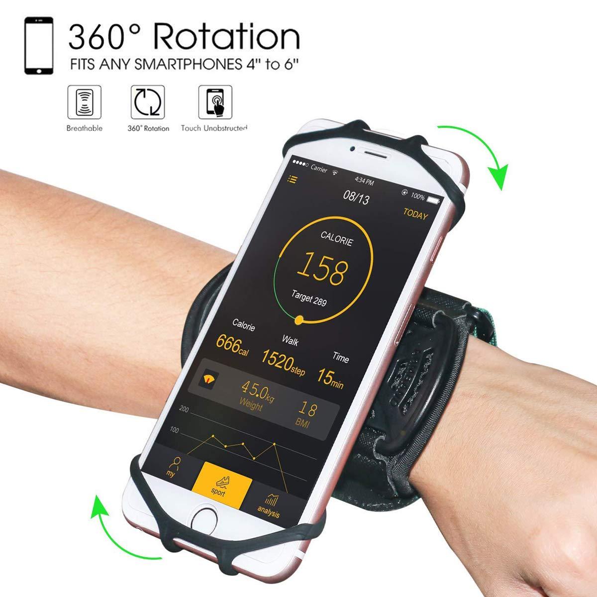 Wristband HC 360%C2%B0Rotatable Universal Smartphone