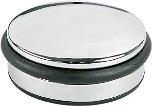 Alco 2850 deurstopper, ca. 4 x 10 cm, zilver