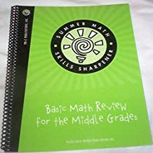 Tri-c Summer Math Skills Sharpner Basic Math Review for the Middle Grades