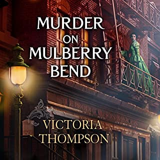 Murder on Mulberry Bend audiobook cover art