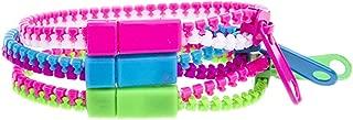 Zipper Bracelet Hip Zip Real Zipper Bracelets Neon Color 3 Pieces Set