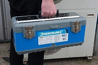 Silverline 386076聽Tool Box, Multi-Colour, 470聽x 220聽x 210聽mm