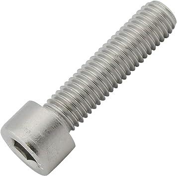 D2D M5 x 10 Zylinderkopfschrauben DIN 912 Zylinderschrauben mit Innensechskant VPE: 50 St/ück Edelstahl A2 V2A