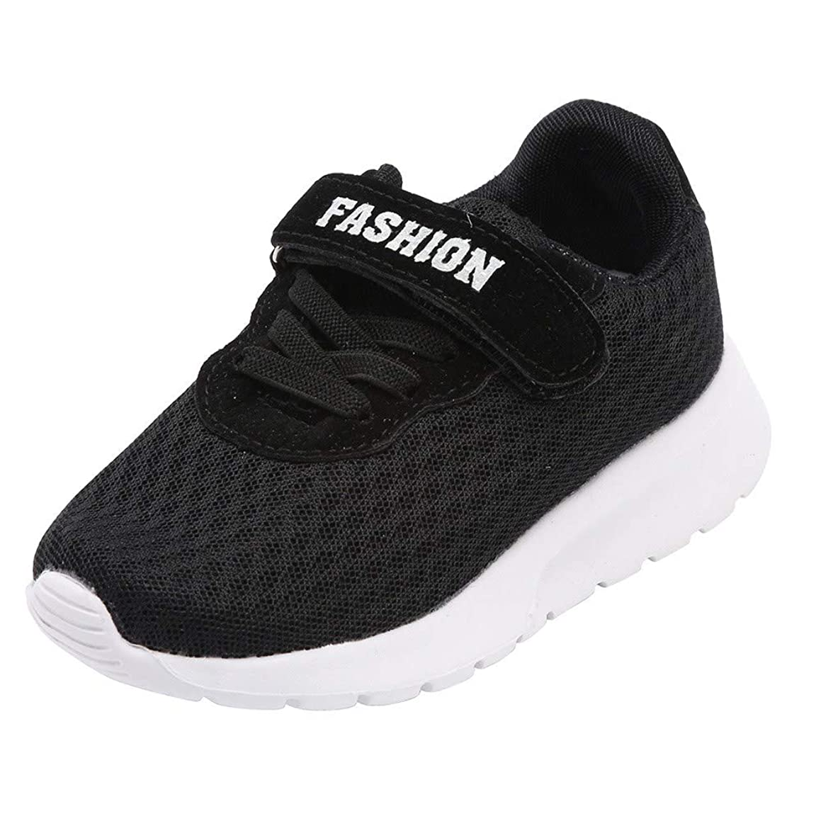 XUANOU Kid Boys Girls Letter Sport Running Breathable Mesh Sneaker Casual Shoes