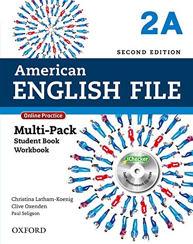 American English File: Am English File 2A Multipk W Online Pract And Ichecker 2Ed: With Online Practice and iChecker
