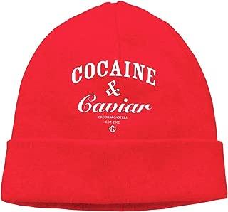 Nidey Cocaine-Caviar Knit Hat Beanies Hat Warm Watch Cap Unisex Stretchy Soft