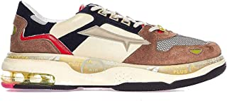 PREMIATA Luxury Fashion Mens DRAKE0034 Beige Sneakers   Spring Summer 20
