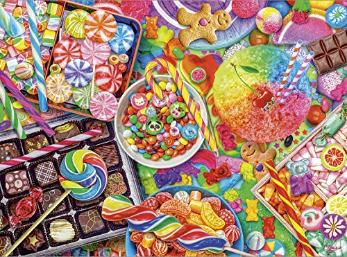 Buffalo Games - Aimee Stewart - Candylicious - 1000 Piece Jigsaw Puzzle, Multicolor