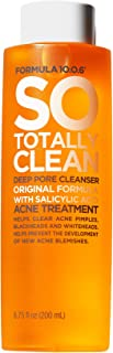 Formula 10.0.6 So Totally Clean Deep Pore Cleanser (6.75 Fl. Oz.) Salicylic Acid Face Toner - Removes Impurities to Clear ...