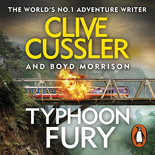 Typhoon Fury audiobook cover art