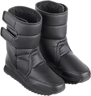 Women's Fleece-Lined Slip-Resistant Winter Boot Black 10