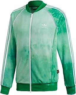 adidas Mens Pharrell Williams hu Holi SST Track Jacket - Green CW9104 (M)
