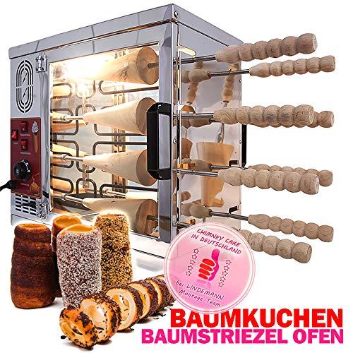 Profi Baumstriezel/Baumkuchen Ofen inkl.16 Spießen Elektro Backofen