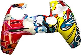 Flexible Silicone Cover Skin for PS5 Controller, Anti-Slip Play station5 Controllers Cover, Soft Dustproof, Anti Scratch D...