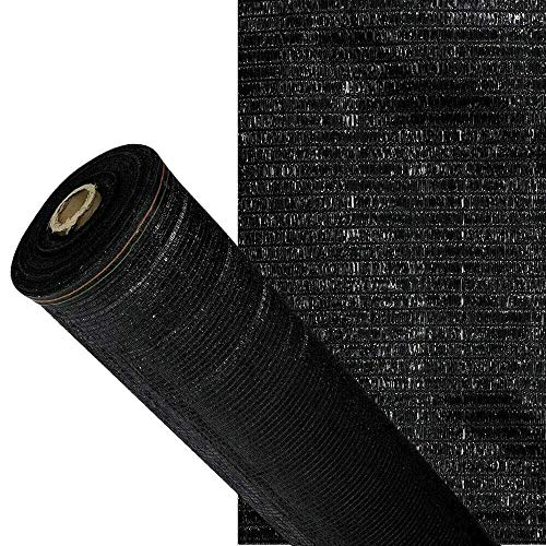 ARTISEC Malla de sombreo ocultación Lona Sombra Color Negra 2x10m Metros rejas