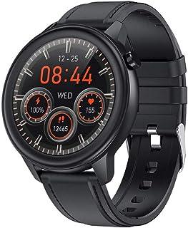 Męski inteligentny zegarek zegarek na rękę temperatura ciała sporty IP68 wodoodporny fitness tracker aktywność fitness tra...