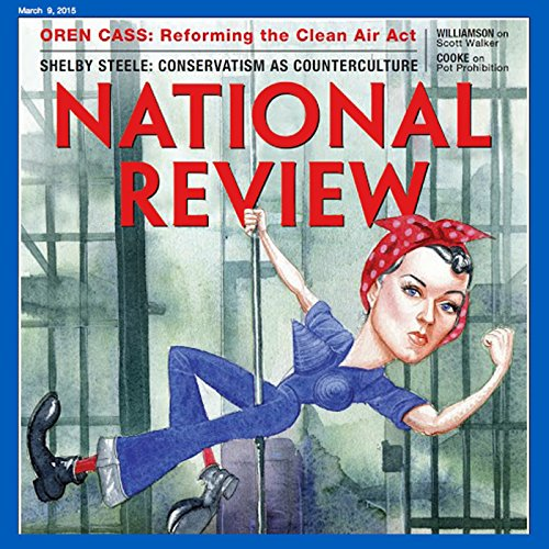 National Review, March 2015 audiobook cover art