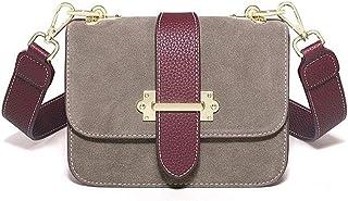 Women nubuck Leather cross body Bag Shoulder Bags ANTI-Scratch Handbag