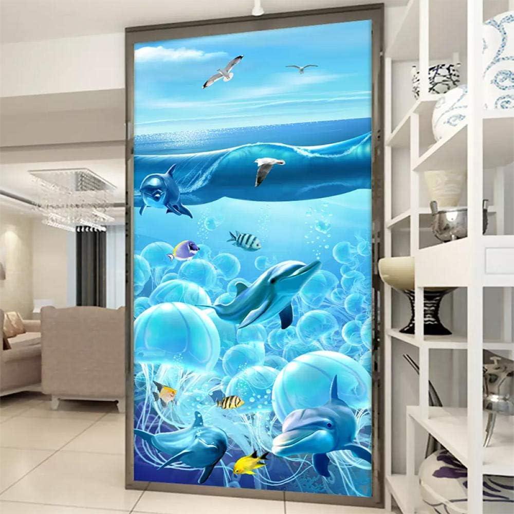 Rapid rise LUOWAN Wall Ranking TOP17 Stickers Decals 3D Fi Deep-Sea Dolphin Anime Cartoon