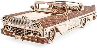 UGears Mechanical Wooden 3D Puzzle Model Dream Cabriolet VM-05