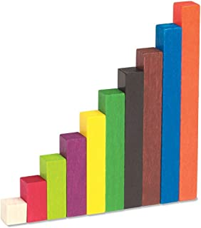 Learning Resources LER7514 Wooden Cuisenaire Rods Small Group Set (155 Piece)