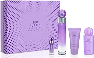 Perry Ellis Fragrances 360 Purple 4-piece Gift Set for Women