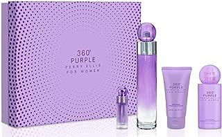 Perry Ellis Fragrances 360 Purple 4-piece Gift Set for Women