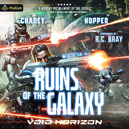 Void Horizon Audiobook By Christopher Hopper, J. N. Chaney cover art