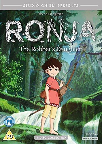 Ronja The Robbers Daughter (4 Dvd) [Edizione: Regno Unito] [Reino Unido]