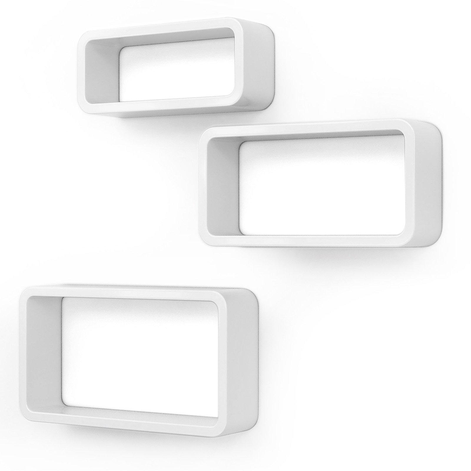 white cube shelves amazon co uk rh amazon co uk cube shelves with coloured inserts uk cube shelving white
