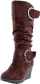 Best chocolate brown womens dress boots Reviews