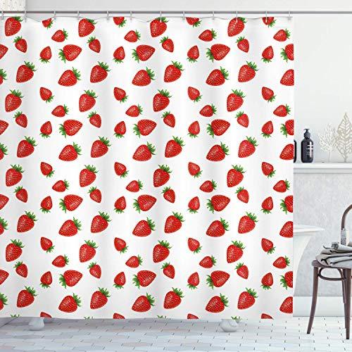 cortinas cocina fresas