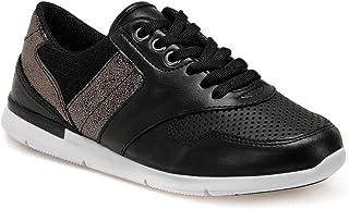 CS20004 Siyah Kadın Basic Casual Ayakkabı