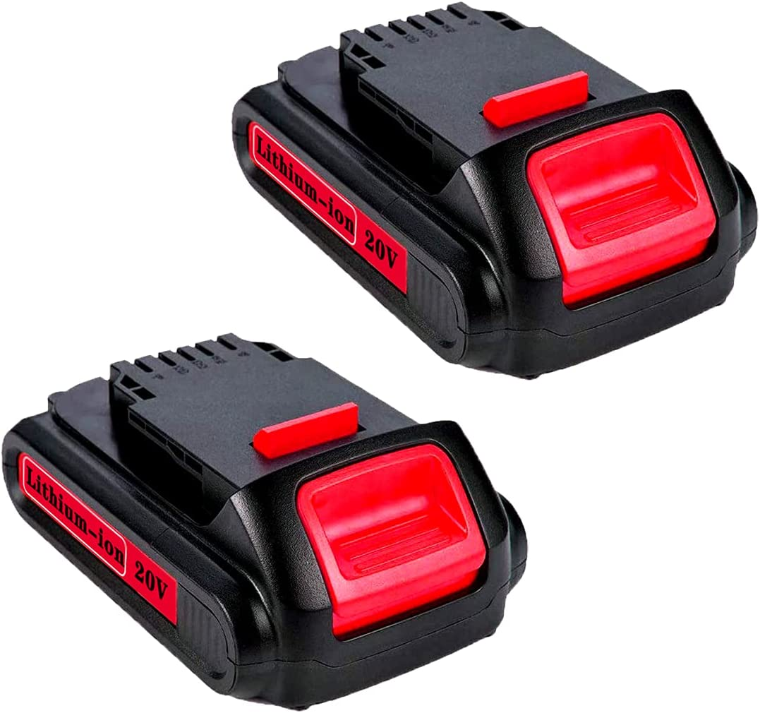 low-pricing GROWFEAT 2Pack 3000mAh 20V Lithium-ion Large discharge sale Replacement for D Battery