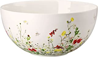 Vegetable Bowl, open, 10 1/4 inch | Brillance Fleurs Sauvages