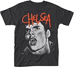 Chelsea T Shirt Right to Work Band Logo Official Mens Black