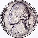 1941 S Jefferson Nickel 5C About Uncirculated