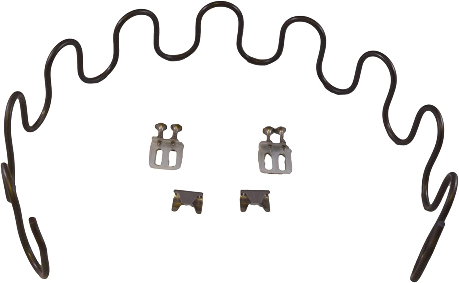 2pk Springs Clips House2Home 23 Sofa Upholstery Spring Replacement Kit Wire for Furniture Chair Couch Repair Includes Instructions