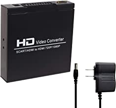 Best can you connect scart to hdmi Reviews