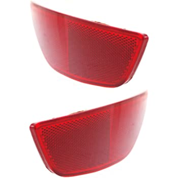 New Rear Left Driver Side Bumper Reflector For 2014-2018 Ford Fiesta Sedan FO1184108