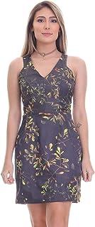 Vestido Clara Arruda Decote V Estampado 50287