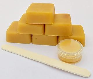 JENNY JOY'S HANDMADE SOAP DIY Pre Mixed Beeswax Wrap Kit -Pine Resin, Organic Jojoba Oil & Beeswax Make Your Own Beeswax W...