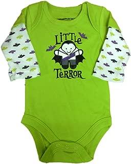 Fade Glory Infant Boy Green Vampire Creeper Snap Bottom Terror Halloween