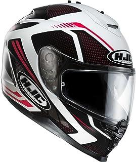 HJC IS-17 Spark Helm Zwart/wit/rood