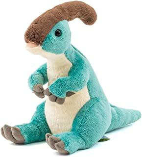 カロラータ パラサウロロフス ぬいぐるみ 恐竜 (おすわりシリーズ) 11cm×19.5cm×14.5cm
