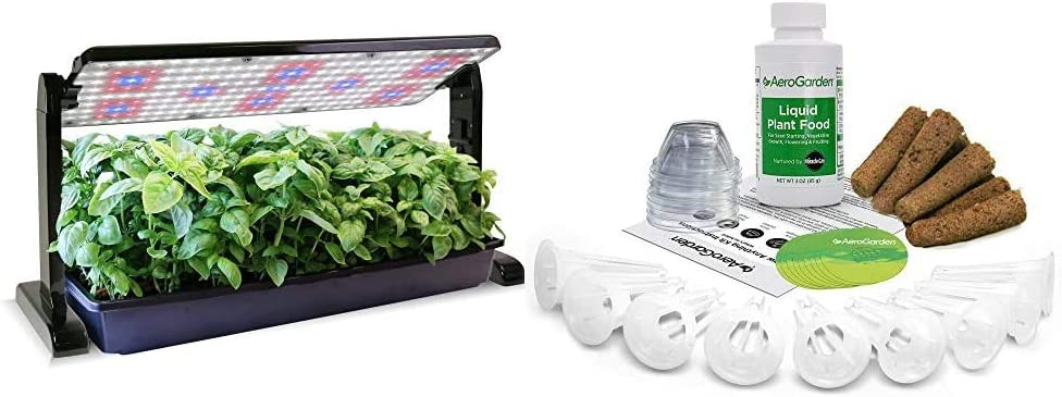 AeroGarden 45w Limited Special Price LED Grow Light Black Bombing new work Panel Seed Anything
