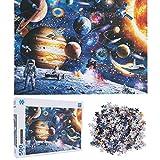 Puzzle, rompecabezas de juguete, astronauta del espacio exterior 500 piezas para niños niños(LL500-7)